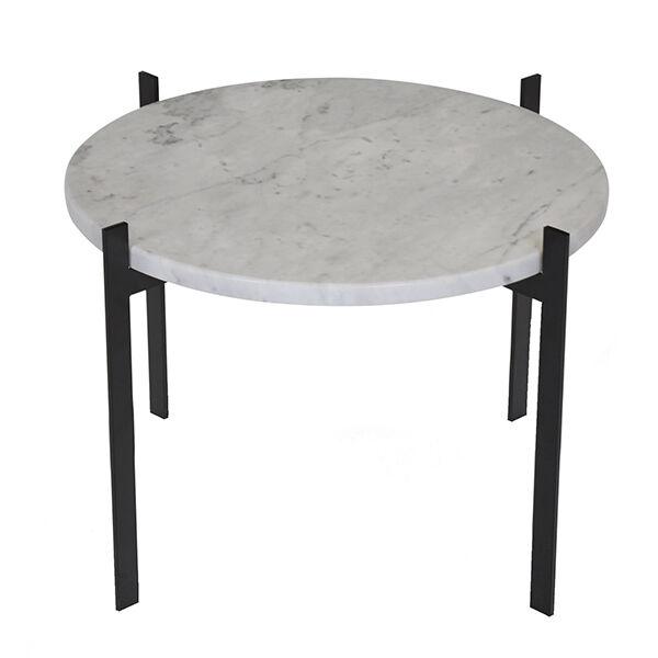 OX Denmarq Single Deck p�yt�, musta - valkoinen marmori