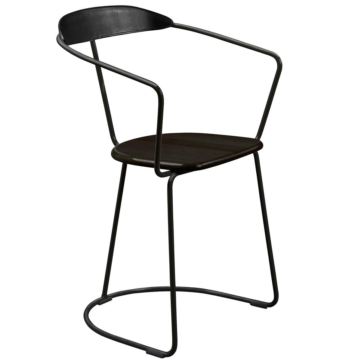 Minus Tio Ghost tuoli, kelkkajalka, musta