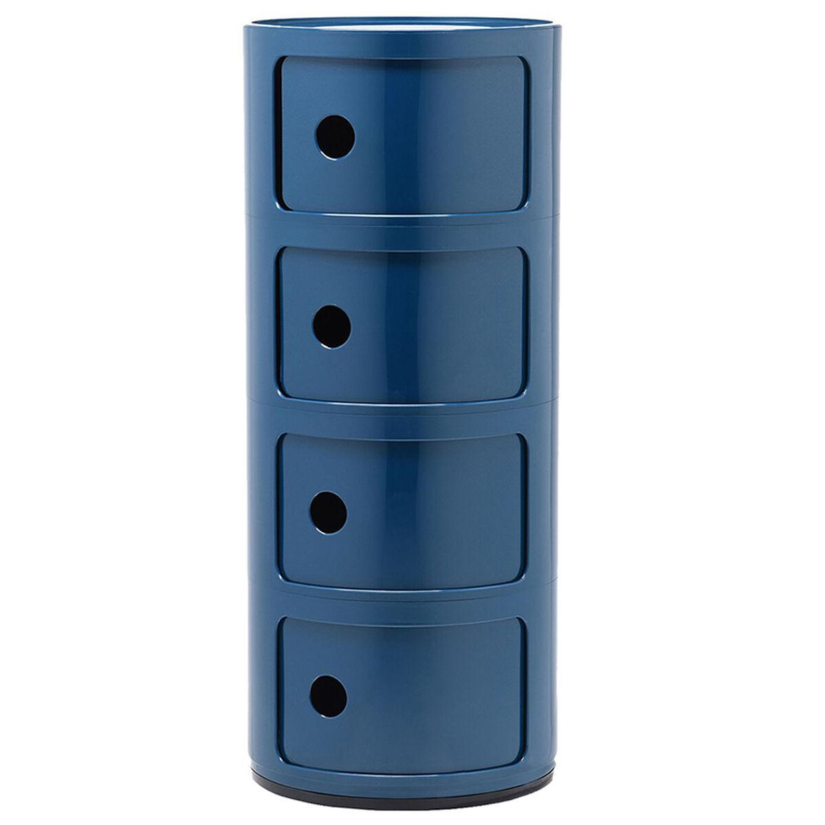 Kartell Componibili s�ilytyskaluste, 4-osainen, sininen