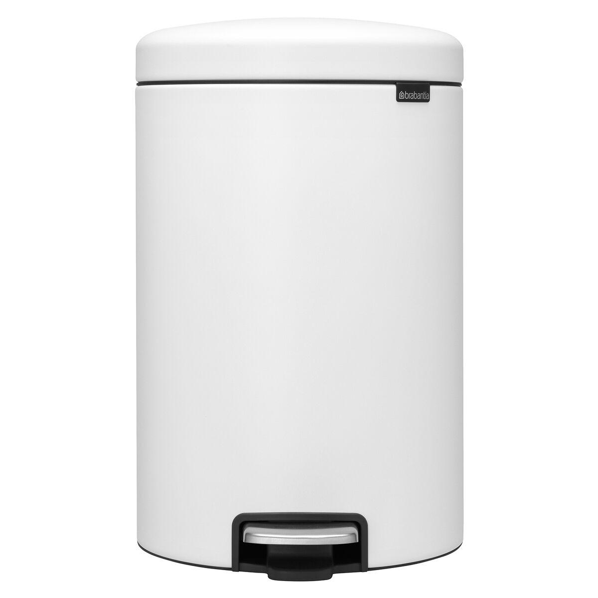 Brabantia newIcon poljinroska-astia 20 L, Sense of Luxury, valkoinen