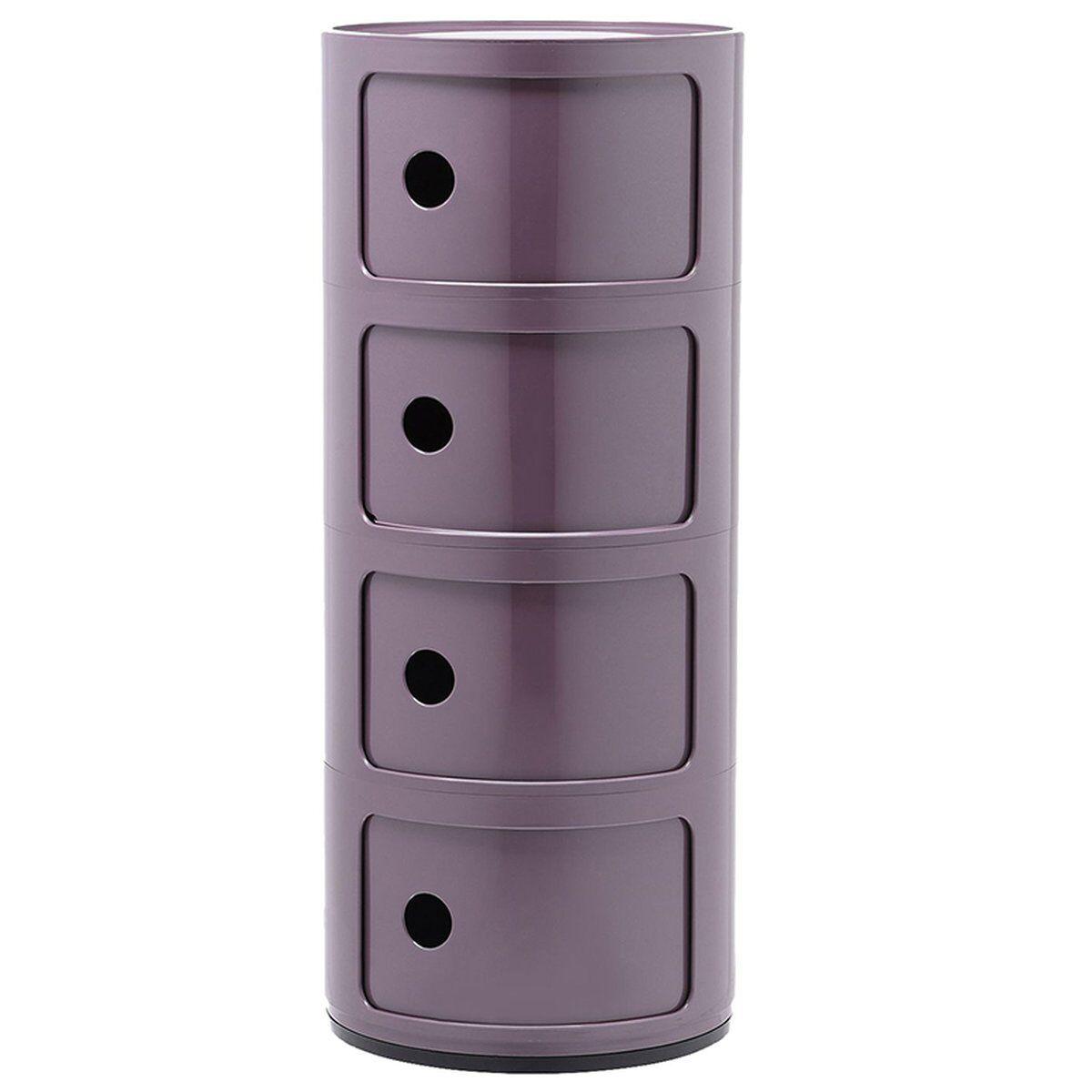 Kartell Componibili s�ilytyskaluste, 4-osainen, violetti