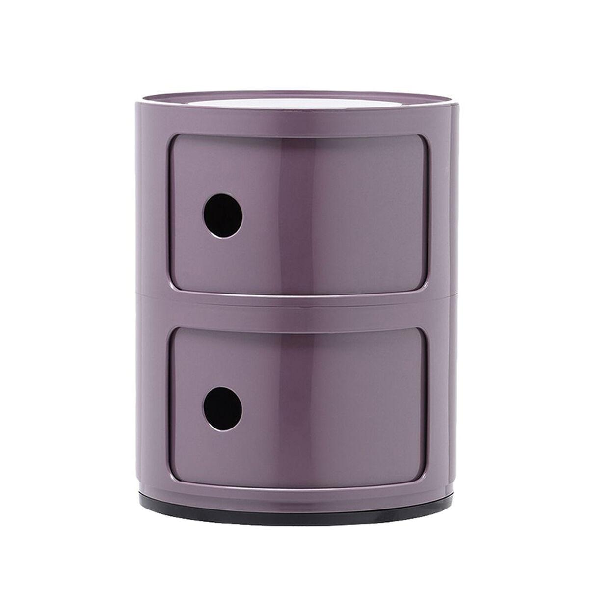 Kartell Componibili s�ilytyskaluste, 2-osainen, violetti
