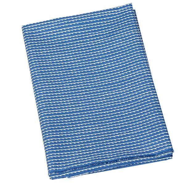 Artek Rivi akryylipintainen kangas, 145 x 300 cm, sininen-valkoinen