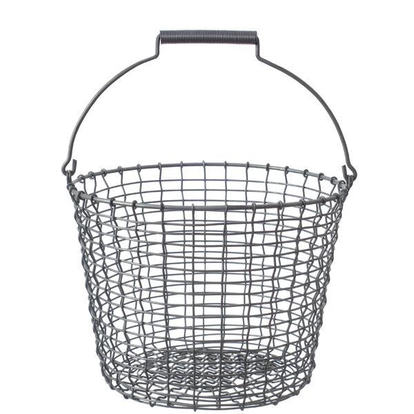 Korbo Metallikori Bucket 16, galvanoitu