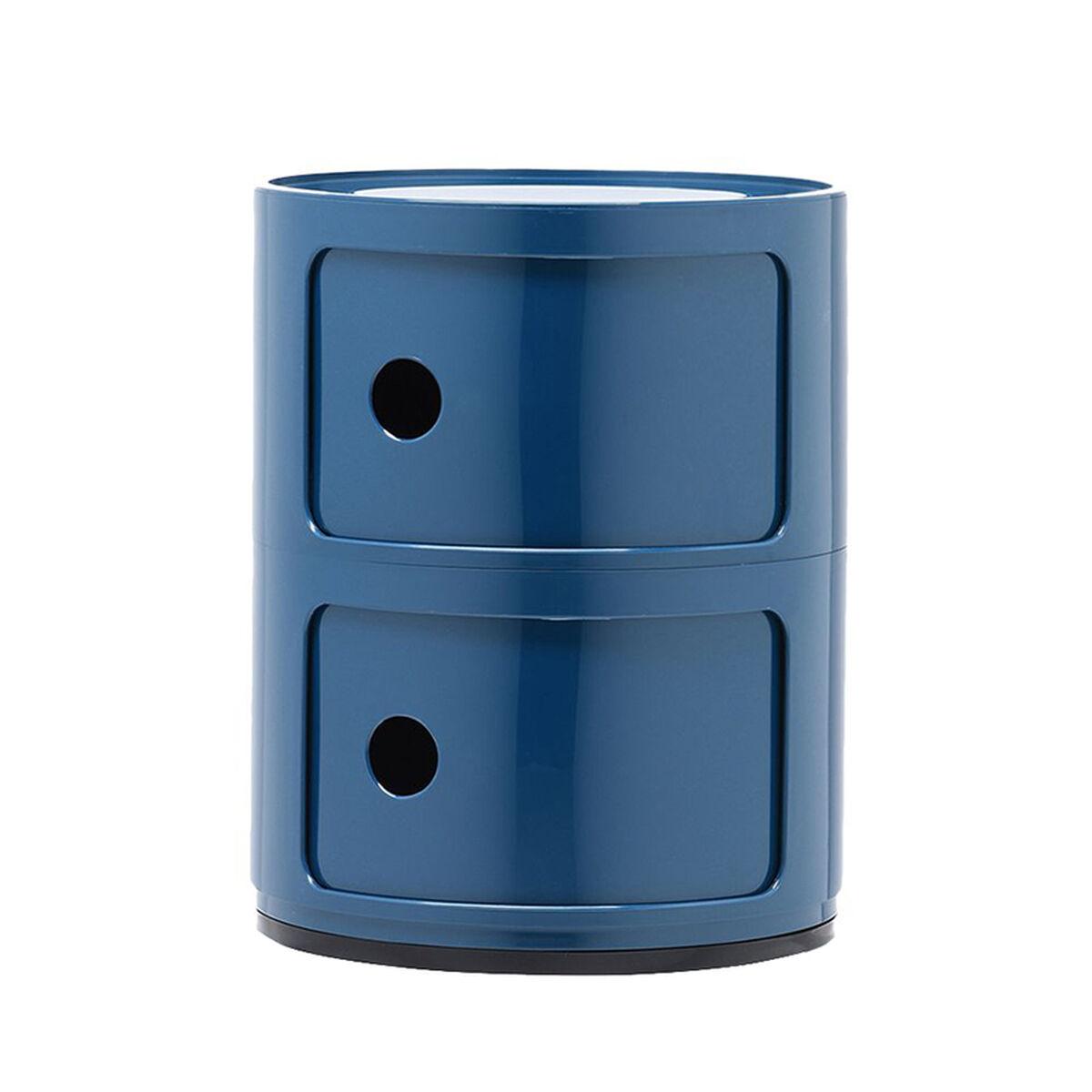 Kartell Componibili s�ilytyskaluste, 2-osainen, sininen