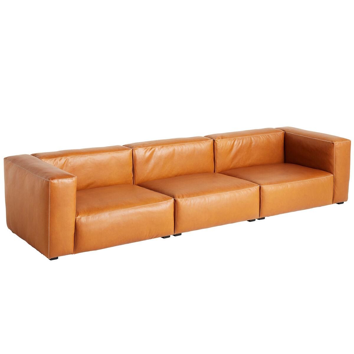 Hay Mags Soft sohva 3-ist/319,5 cm, korkea k�sinoja, Silk 0250