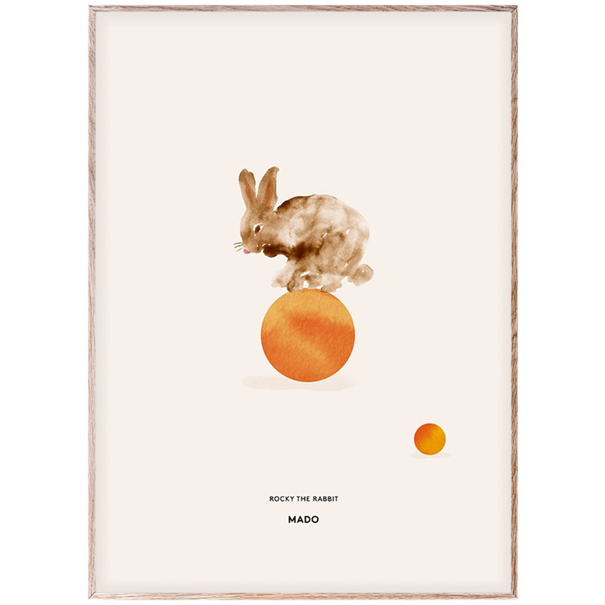 MADO Rocky the Rabbit juliste 50 x 70 cm