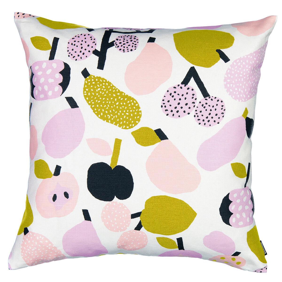 Kauniste Tutti Frutti tyynynpäällinen, oliivinvihreä