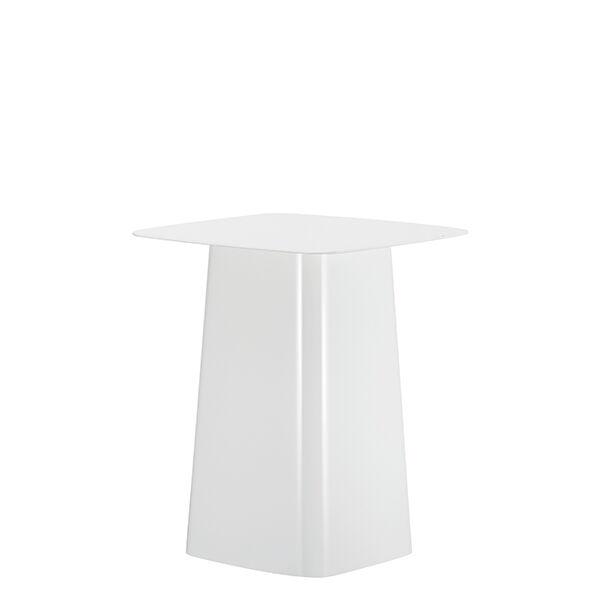 Vitra Metal Side Table, S, valkoinen
