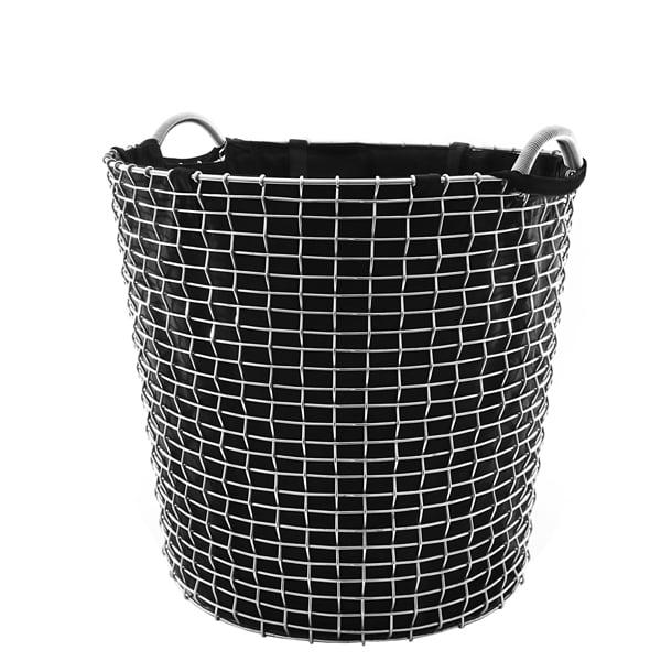 Korbo Pyykkipussi metallikoriin Classic 65, musta
