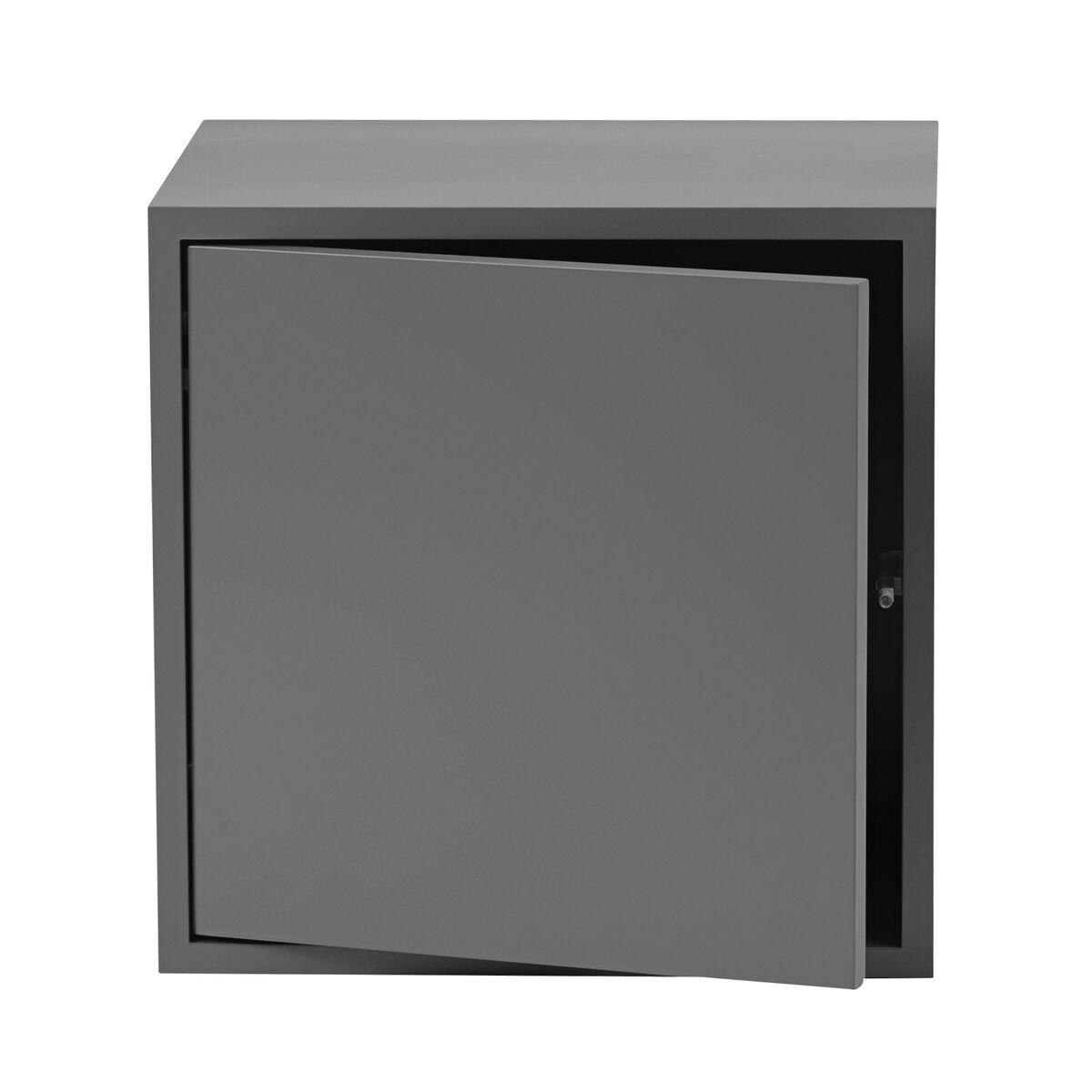 Muuto Stacked 2.0 hyllymoduuli ovella, keskikokoinen, harmaa