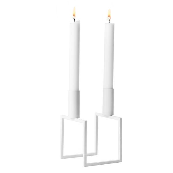 By Lassen Line kynttil�njalka, valkoinen