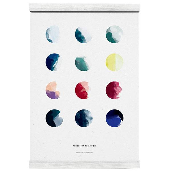 Paper Collective Moon Phases juliste