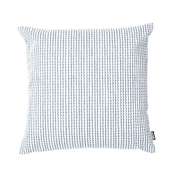 Artek Rivi tyynynp��llinen, 40 x 40 cm, valkoinen-sininen