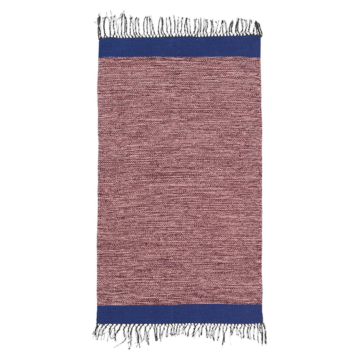 Ferm Living Melange kylpyhuoneen matto, roosa-sininen