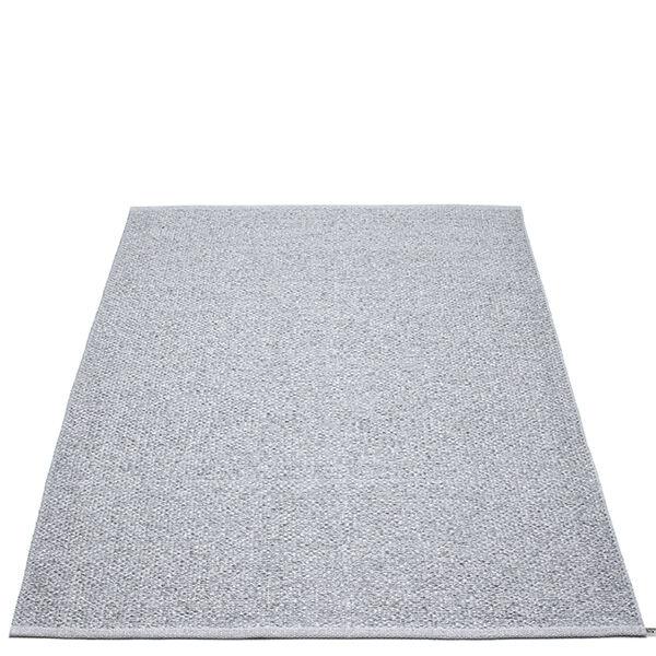 Pappelina Svea matto, 140 x 220 cm, grey metallic