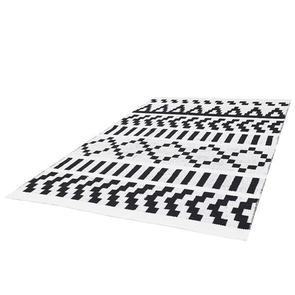 Forme Pikseli matto, musta-valkoinen