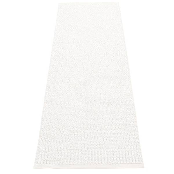 Pappelina Svea matto, 70 x 240 cm, white metallic