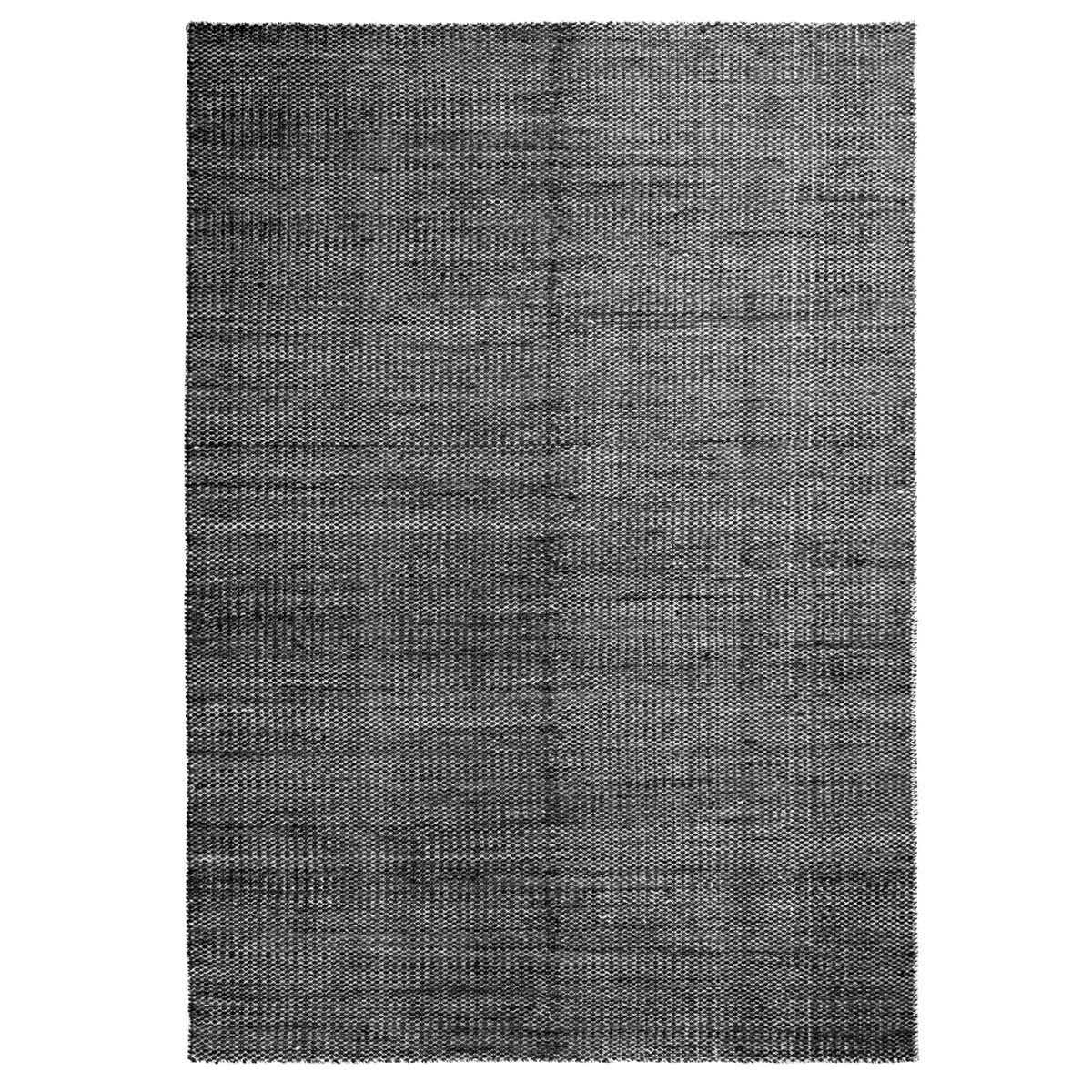 Image of Hay Moiré Kelim matto 140 x 200 cm, musta