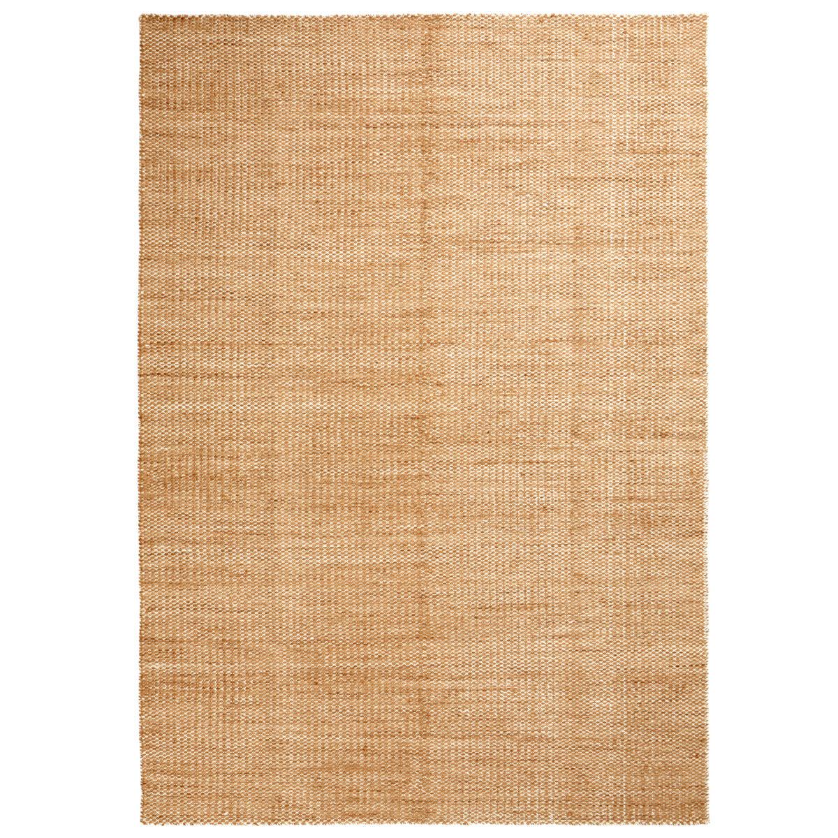 Image of Hay Moiré Kelim matto, 140 x 200 cm, keltainen