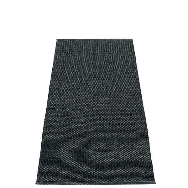 Pappelina Svea matto, 70 x 160 cm, black metallic