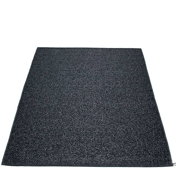 Pappelina Svea matto, 140 x 220 cm, black metallic