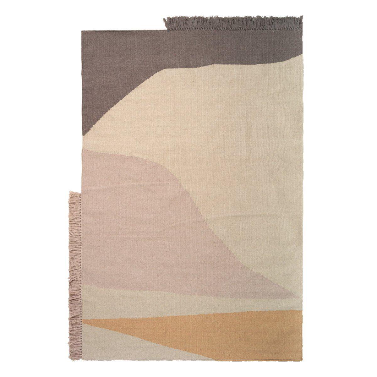 Image of Ferm Living Kelim matto, Earth, 140 x 200 cm