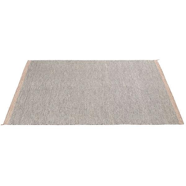 Muuto Ply matto, musta - valkoinen
