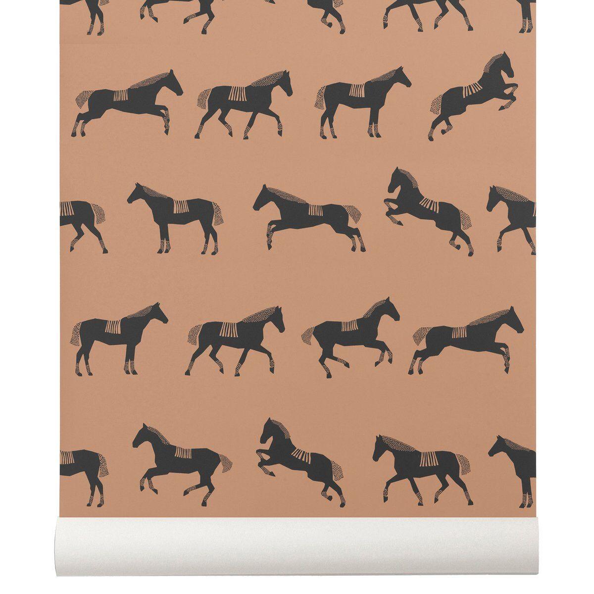Ferm Living Horse tapetti