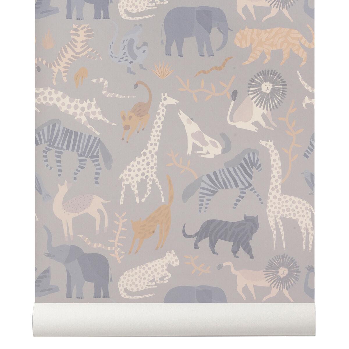 Ferm Living Safari tapetti