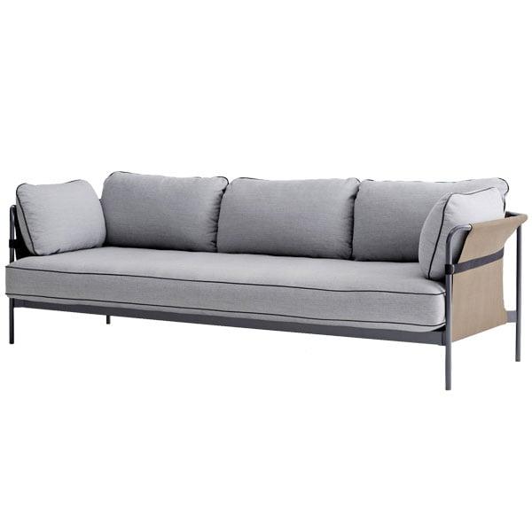 Hay Can sohva 3-istuttava, harmaa-army runko, Surface 120
