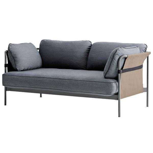 Hay Can sohva 2-istuttava, harmaa-army runko, Surface 990