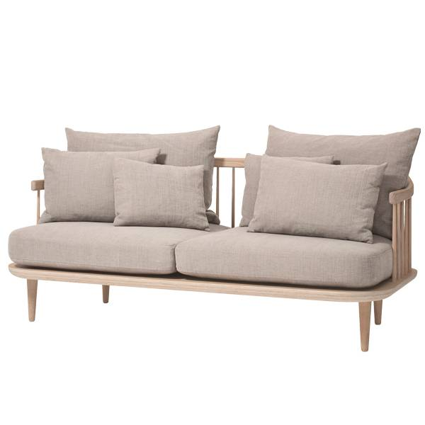 &Tradition Fly SC2 sohva, valko�ljytty tammi - Hot Madison 094