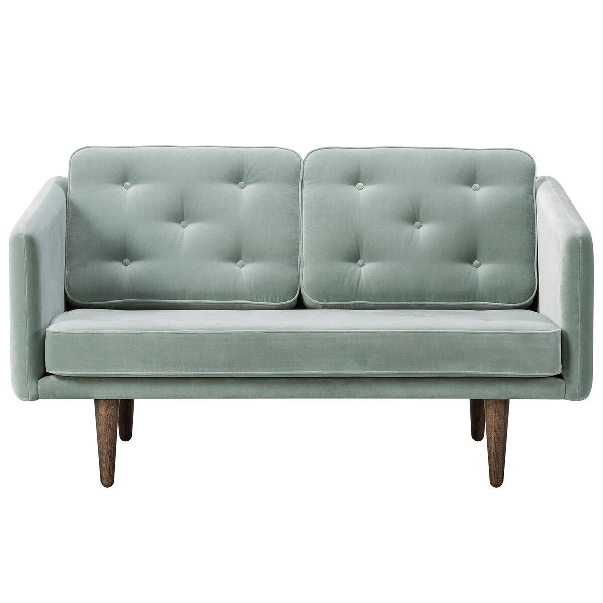 Fredericia No. 1 sohva, 2-istuttava, Harald 823 - savustettu tammi