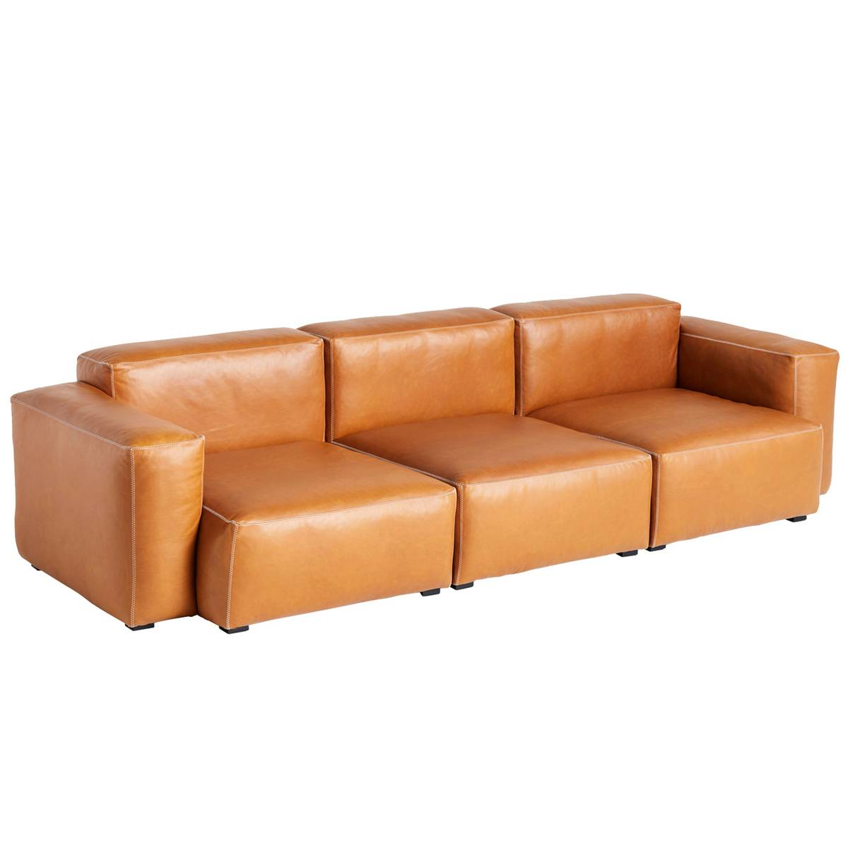 Hay Mags Soft sohva 3-ist/269 cm, matala käsinoja, Silk 0250