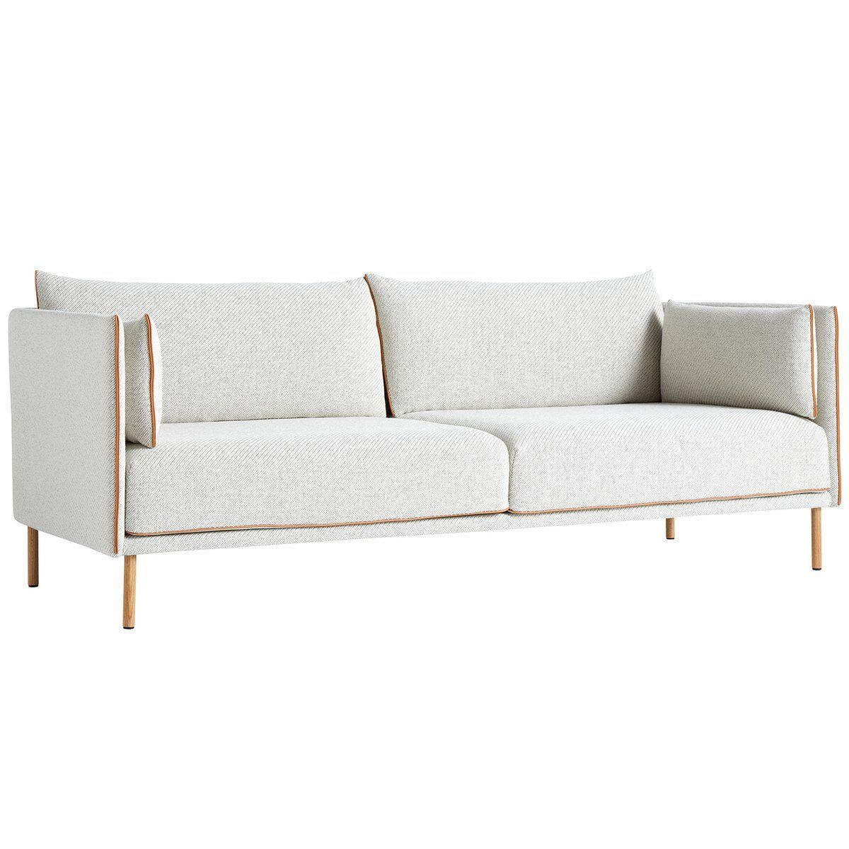 Image of Hay Silhouette sohva 3-ist, Coda 100/Silk cognac - öljytty tammi