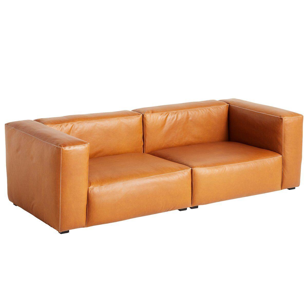 Hay Mags Soft sohva 2,5-ist/228 cm, korkea k�sinoja, Silk 0250