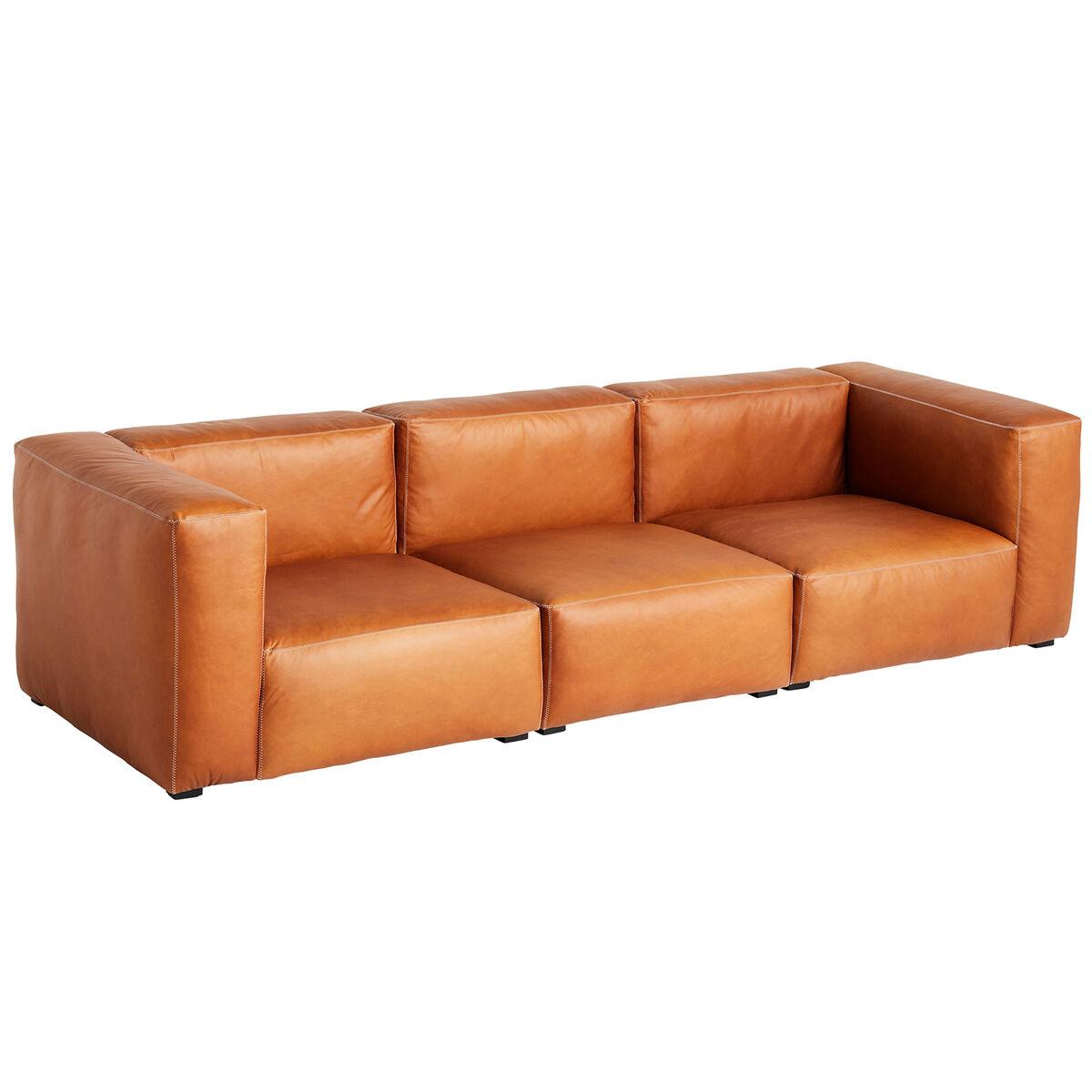 Image of Hay Mags Soft sohva 3-ist/269 cm, korkea käsinoja, Silk 0250