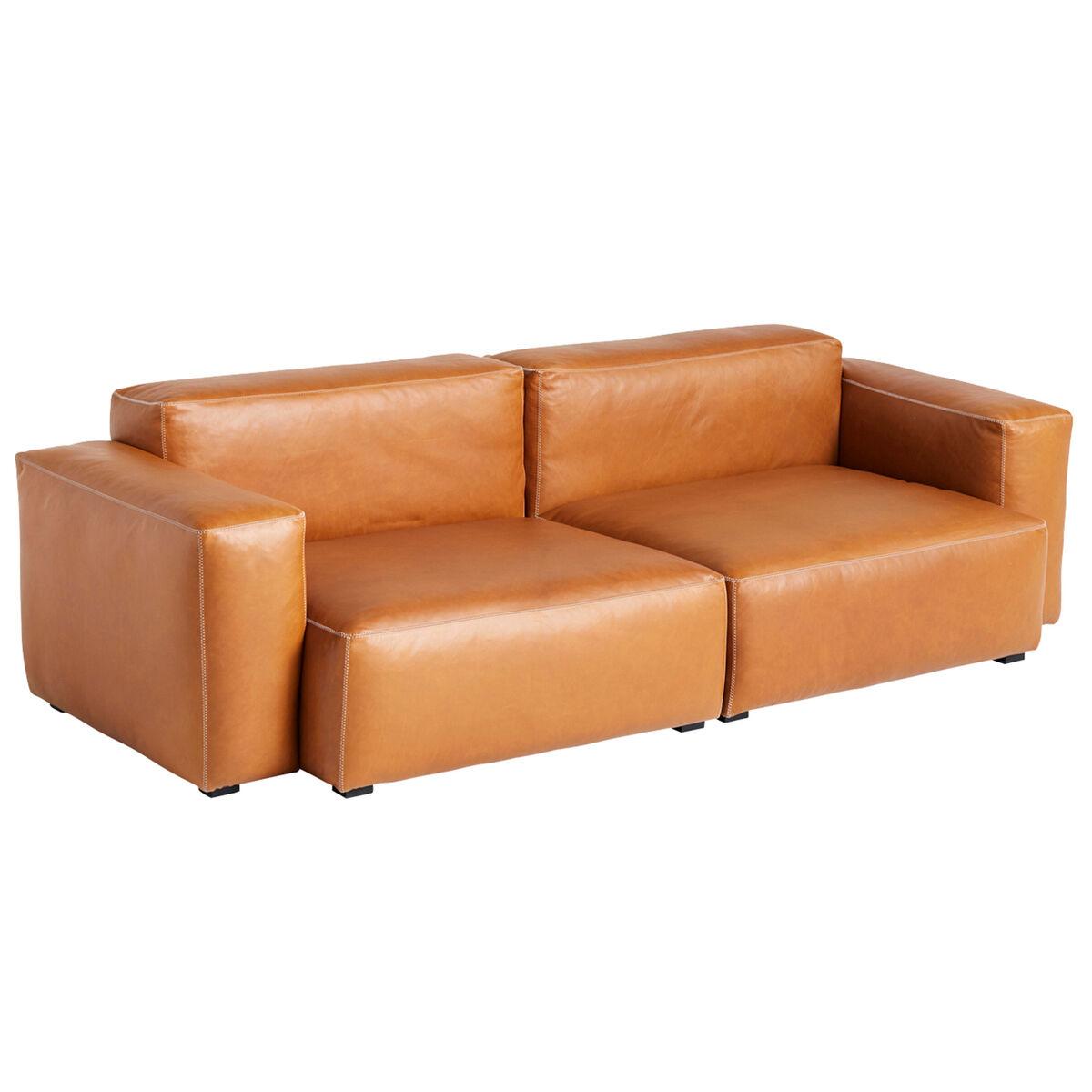 Hay Mags Soft sohva 2,5-ist/228 cm, matala käsinoja, Silk 0250