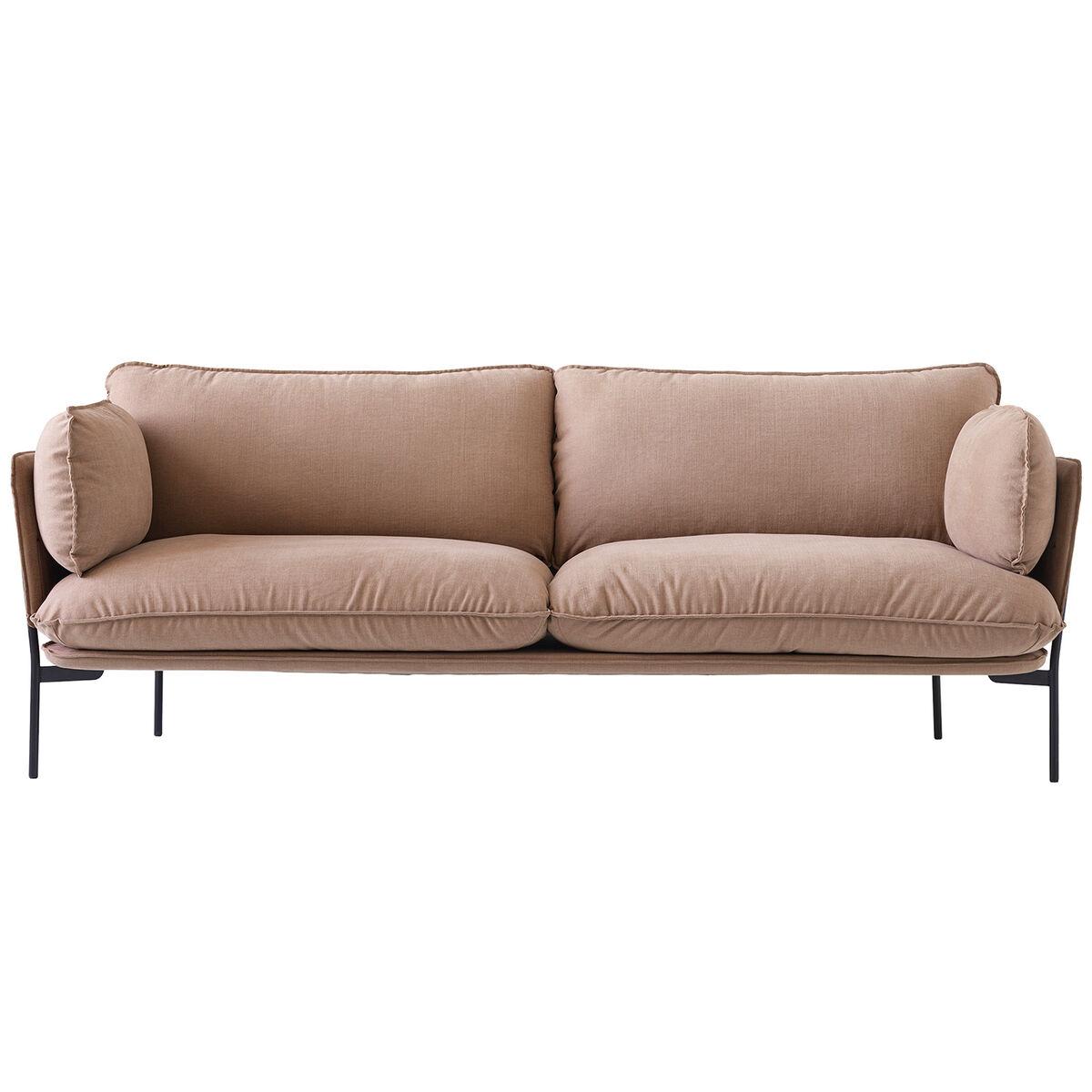 &Tradition Cloud LN3.2 sohva, 3-istuttava, Hot Madison 495