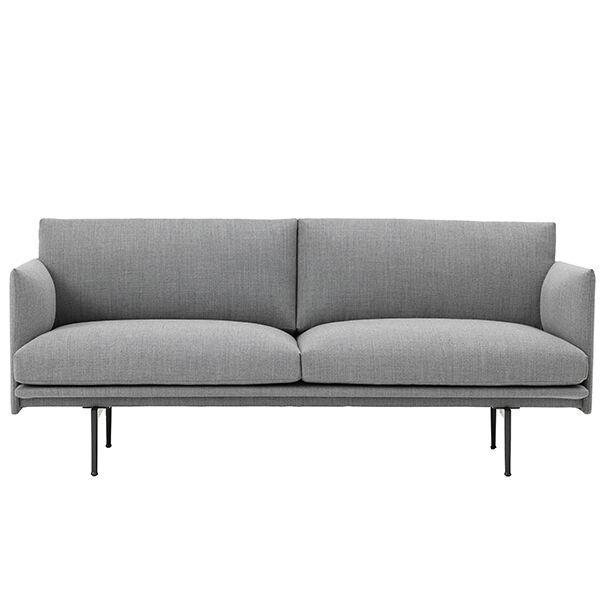 Muuto Outline sohva, 2-istuttava