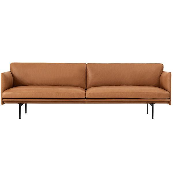 Muuto Outline sohva, 3-istuttava