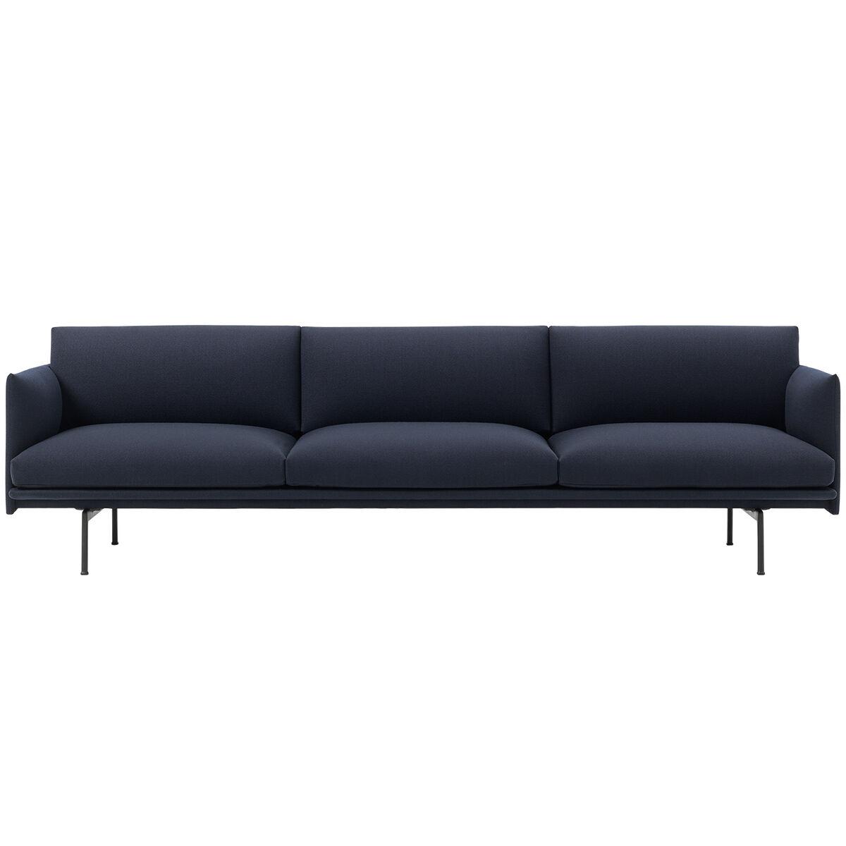 Muuto Outline sohva, 3 1/2 istuttava