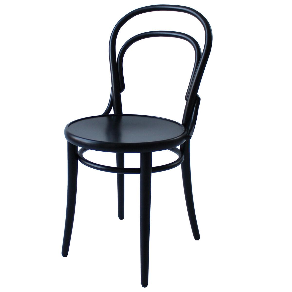 TON Chair 14 tuoli, musta