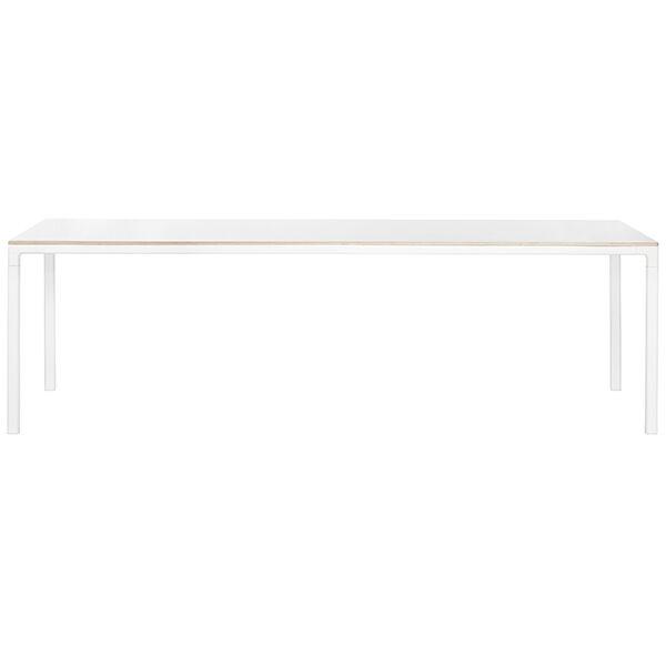 Hay T12 pöytä, valkoinen laminaatti
