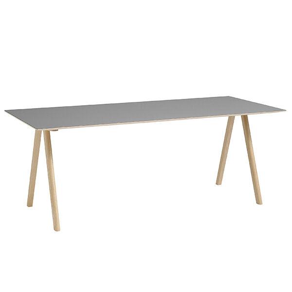 Image of Hay CPH10 pöytä 160x80 cm, mattalakattu tammi - harmaa lino