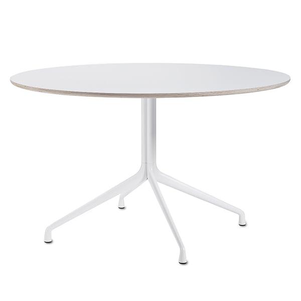 Hay About a Table AAT20, 128 cm, valkoinen laminaatti