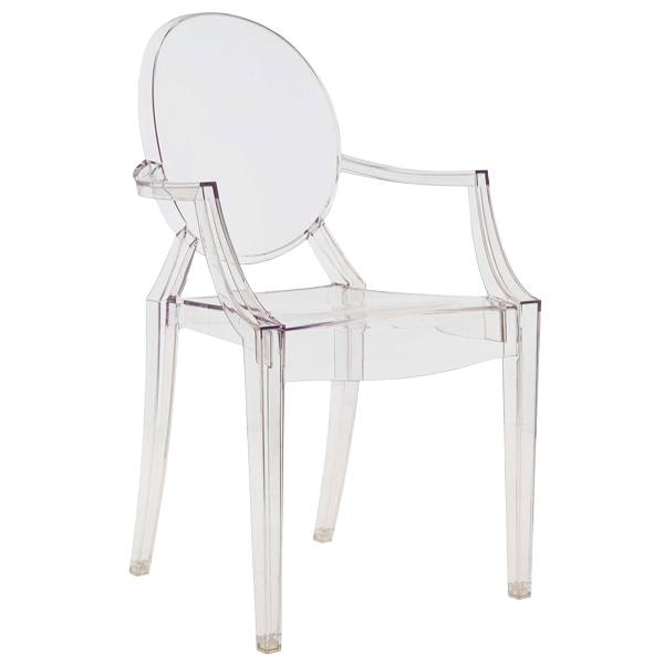 Kartell Louis Ghost tuoli, kirkas