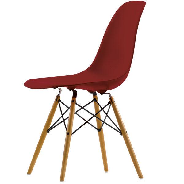 Vitra Eames DSW tuoli, oxide red - vaahtera