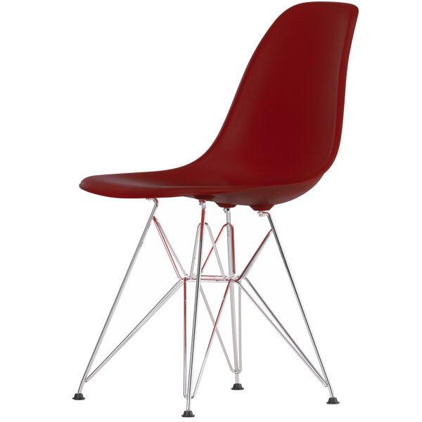 Vitra Eames DSR tuoli, oxide red - kromi